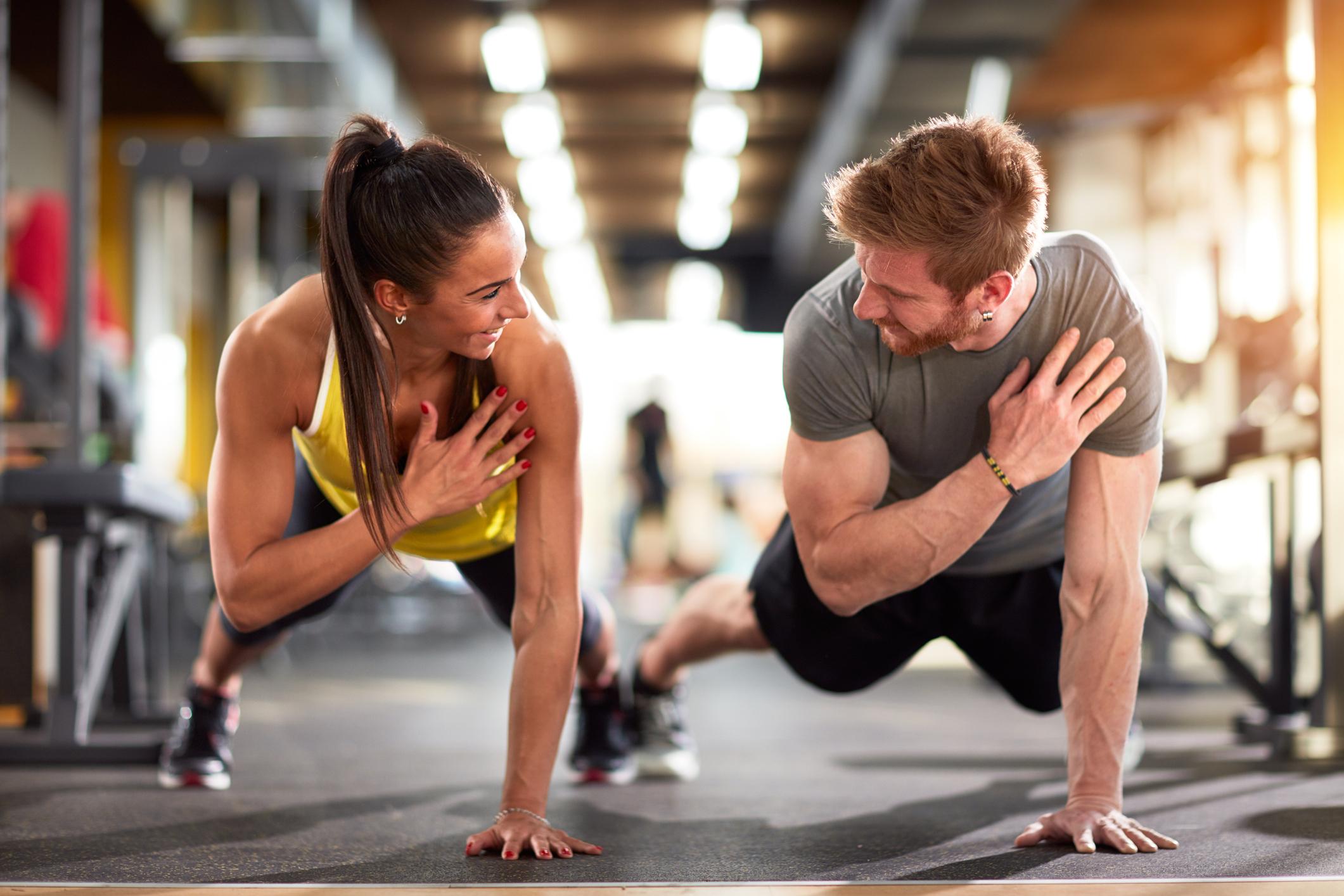 forma kroppen med träning